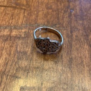 Jewelry - Sterling Silver Hamsa Ring. 925. Size 6.5.